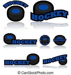 hockey, iconen