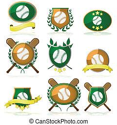 honkbal, kentekens