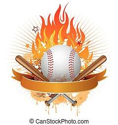 honkbal, vlammen