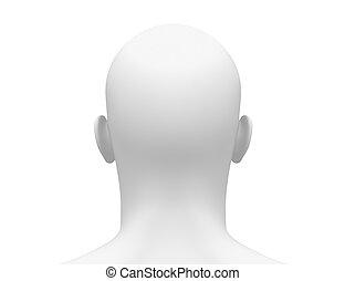 hoofd achtermening