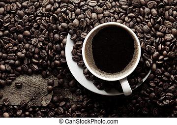 hoogste mening, koffiekop