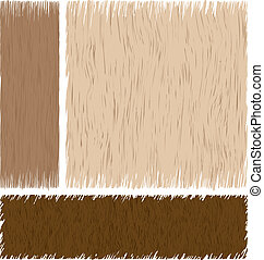 hout, achtergrond, vector