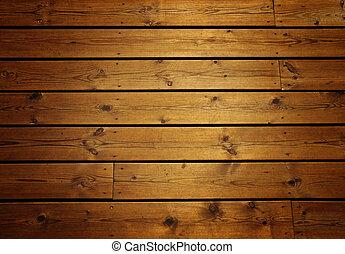 hout, panelen, grunge