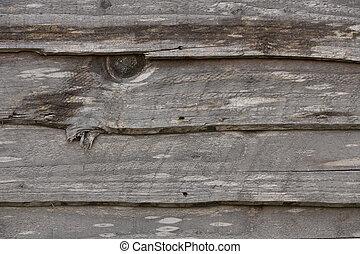 houten, abstract, omheining, paneel