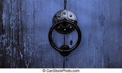 houten, oud, deur, hd, opening