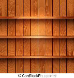 houten, realistisch, planken
