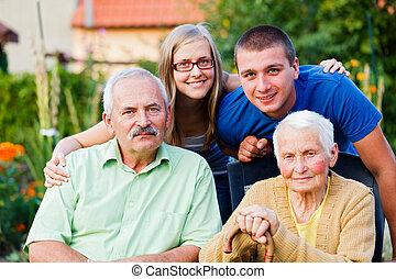 huishoudelijke hulp, gezin, woongebied