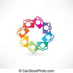 icon., fototoestel