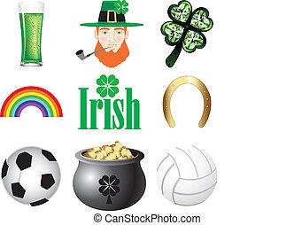 iconen, ierland