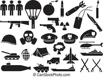 iconen, militair