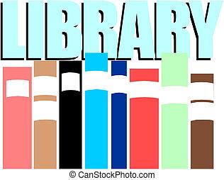 illustratie, bibliotheek