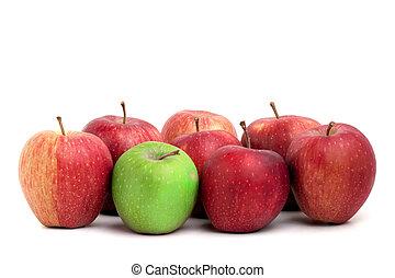 individualiteit, appeltjes
