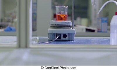 industrie, wetenschapper, technologie, laboratorium
