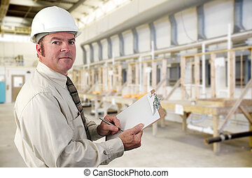 industriebedrijven, inspecteur