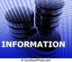 informatie opslag, data