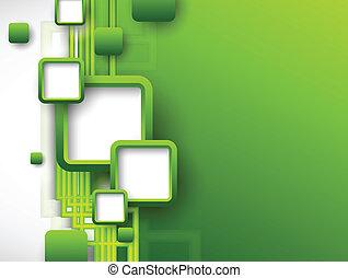 informatieboekje , abstract, groene