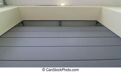 ingang, deur, garage, bankstel, automatisch, het tilen