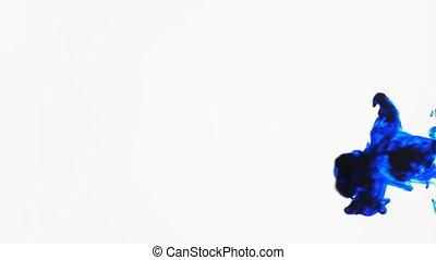 inkt, blauwe