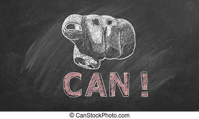 inspirational, motivational, u, can., noteren