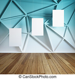 interieur, lijstjes, abstract, kamer, lege
