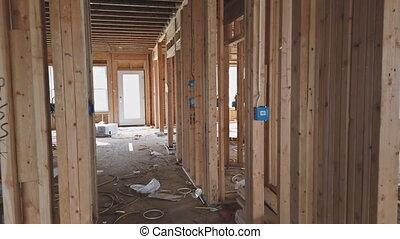 interieur, thuis gebouw, houten, het ontwerpen, woning, woongebied