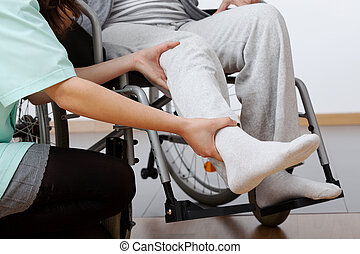 invalide, rehabilitatie