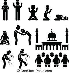 islam, cultuur, moslim, religie