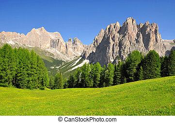 italië, alpen