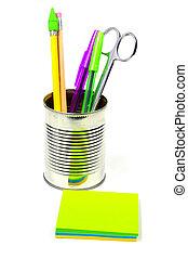 items, bureau