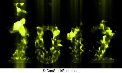 jaarwisseling, 2012, vrolijke , 2012