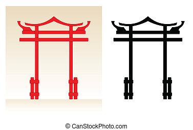japan, poort