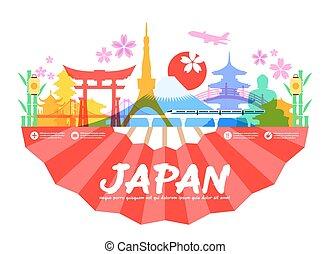 japan, reizen, bekende & bijzondere plaatsen