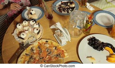 jarig, pizza, restaurant