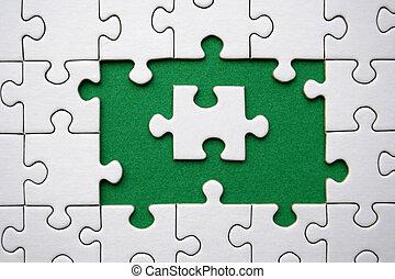 jigsaw, (conceptual)
