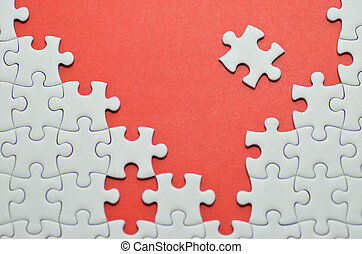 jigsaw, puzzle.