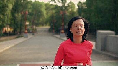 jogger, looppas, park