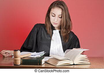jonge, advocaat