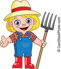 jonge, farmer