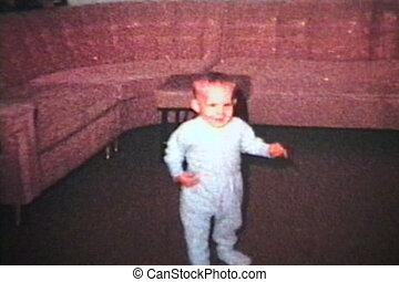 jongen, weinig; niet zo(veel), leert, (1963), wandeling
