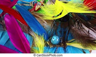 juwelen, kleurrijke, veertjes, edelstenen, observeer vogels veer, jewelrys