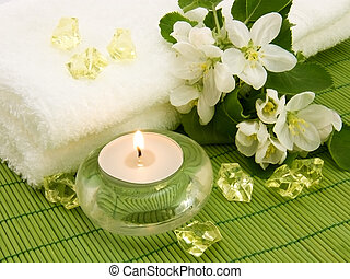 kaarsje, aroma, aromatherapy