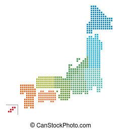 kaart, japan