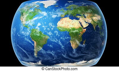 kaart, omslagen, bg), globe, (black, wereld