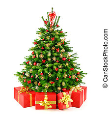kadootjes, boompje, natuurlijke , kerstmis, rustiek