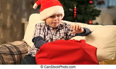 kadootjes, jongen, kerstmis