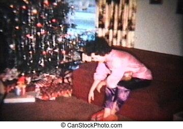 kadootjes, kerstmis, (1963), opening