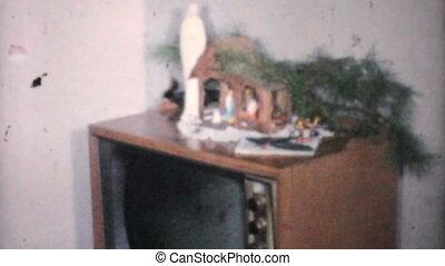 kadootjes, ouderwetse , kerstmis, 1961, 8mm