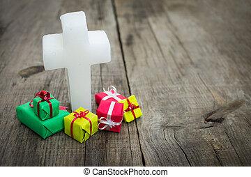kadootjes, religieus, kruis