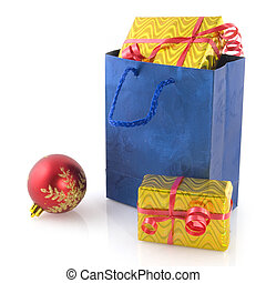 kadootjes, zak, shoppen , kerstmis