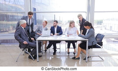 kantoor, handel team